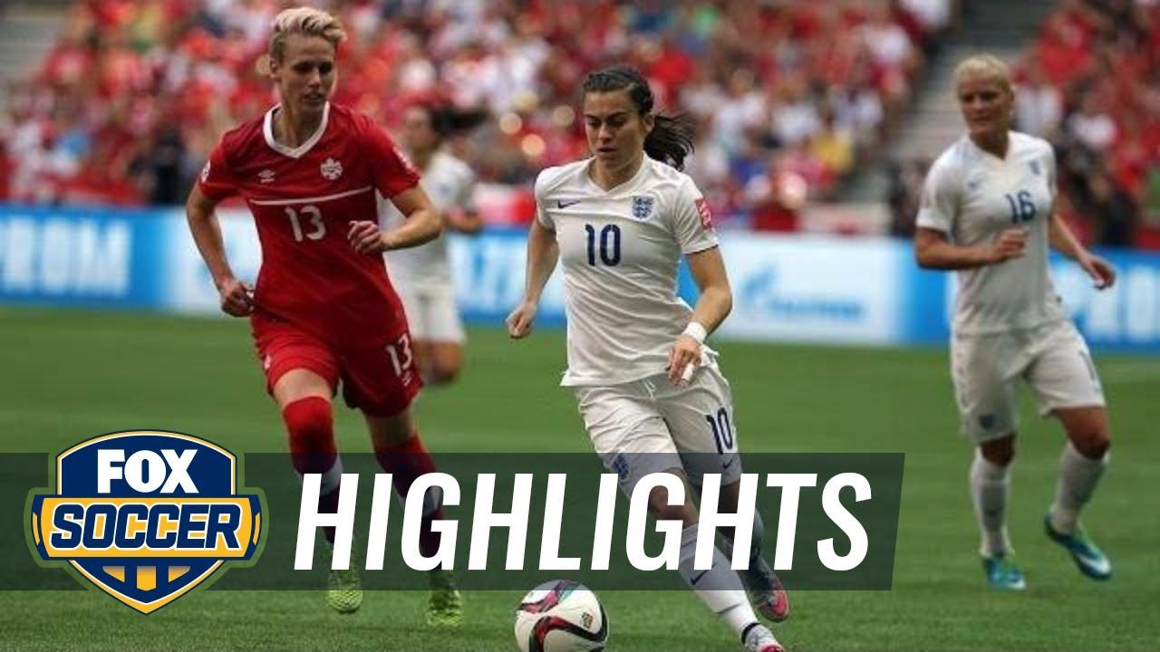 England vs. Canada