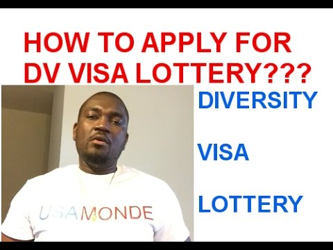 HOW TO APPLY FOR DV  LOTTERY 2019 ONLINE