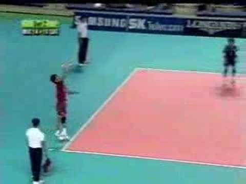 Macau Volleyball Team Asian Games Busan 2002 - 梁家豪