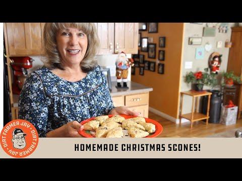 Homemade Christmas Scones!