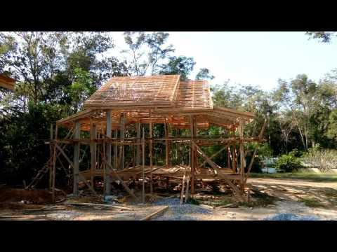 รับสร้างบ้านไม้สัก Tel. 088-5786078 - building a teak house in Thailand