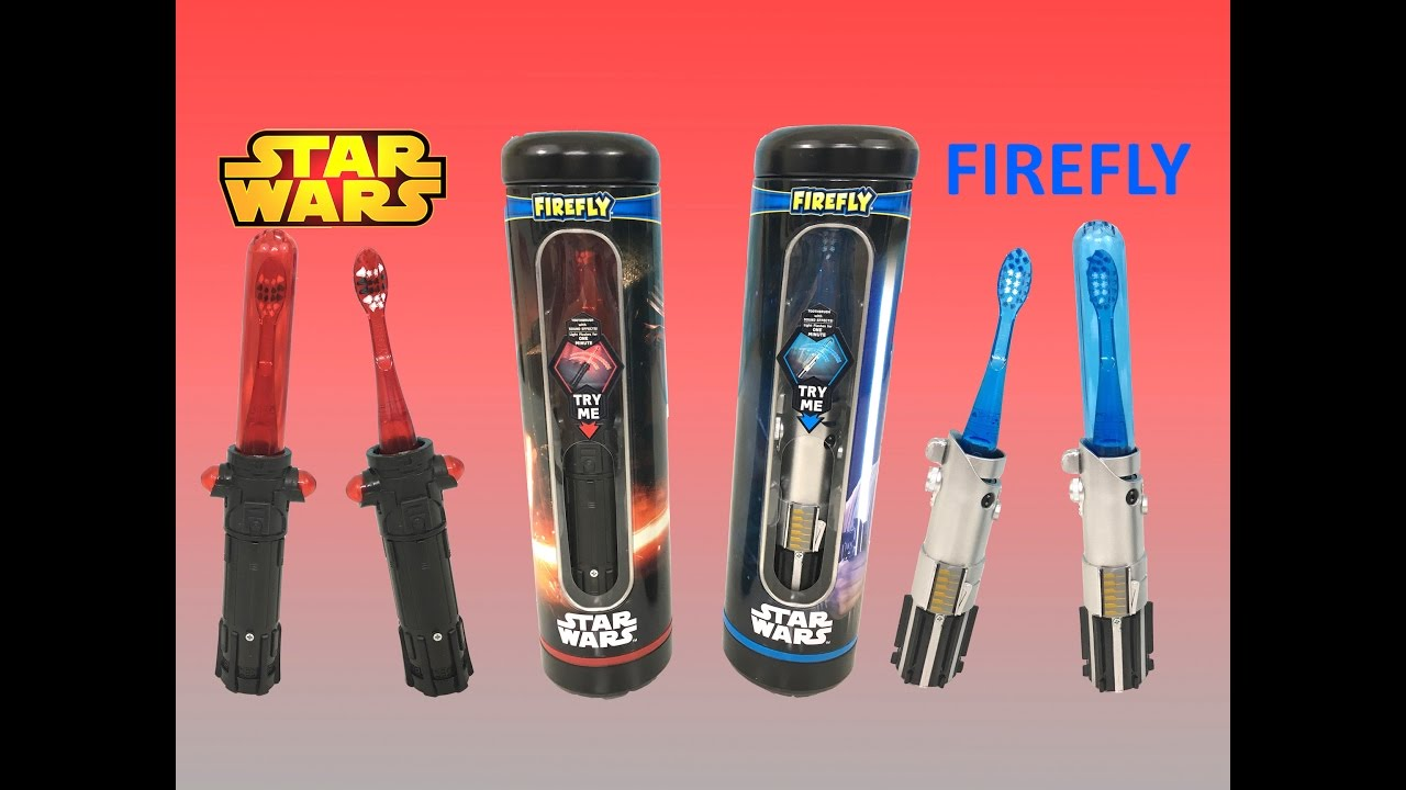 STAR WARS Firefly Lightsaber Toothbrush | Kids Station - YouTube for How To Make A Lightsaber For Kids  300lyp