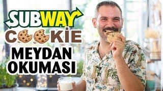 Subway Cookie (Challenge) Meydan Okuması | Çikolatalı Cookie (Kurabiye) Tarifi
