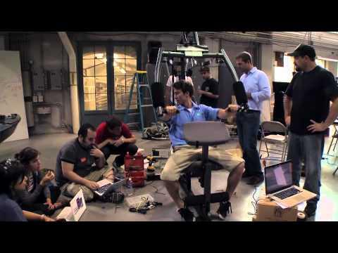 Josh & Chuck - Building A Gym Power Generator
