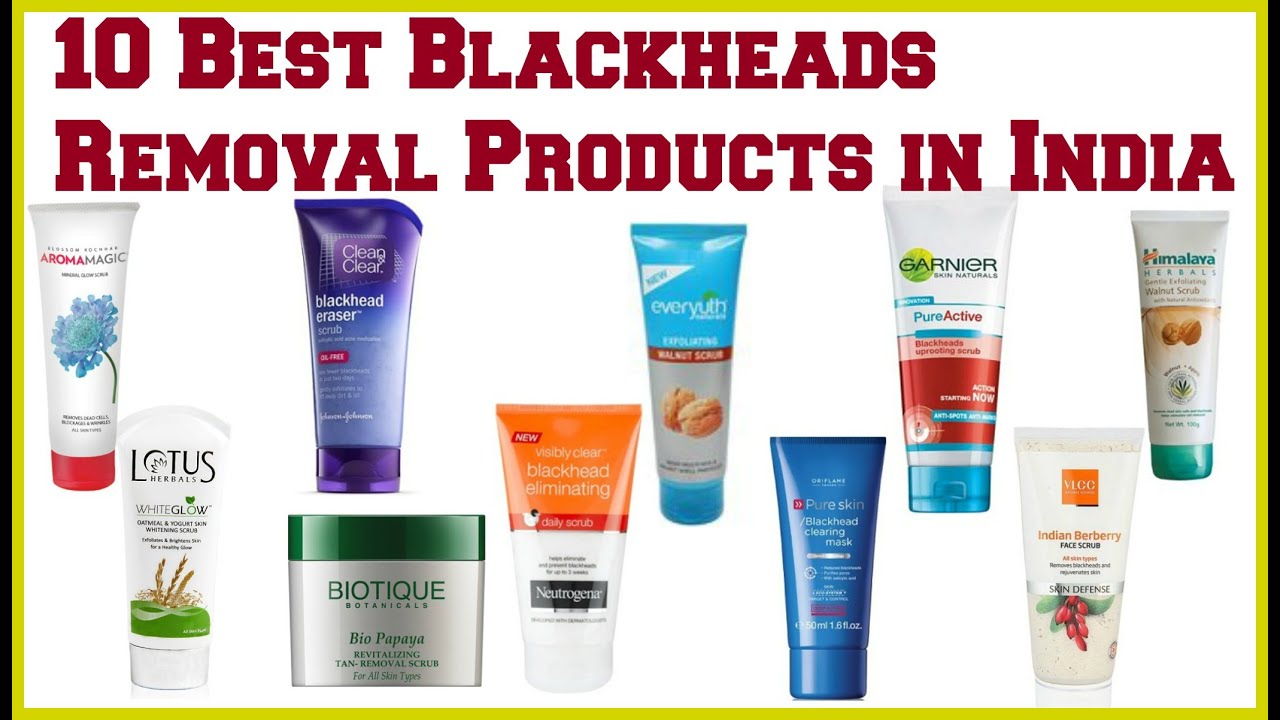 foto Blackhead removal creams and scrubs
