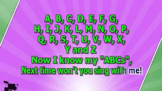 Karaoke for kids ABC Alphabet Song slow ( www.letsing.pl )