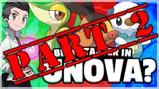 What Is The Best Starter Pokemon? (Unova) Feat. TheSilverSlasher Part 2