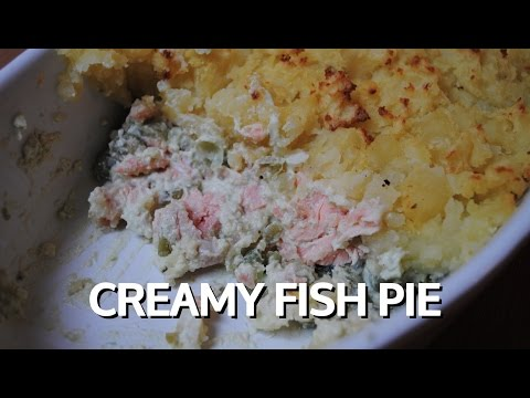 CREAMY FISH PIE - Student Recipe