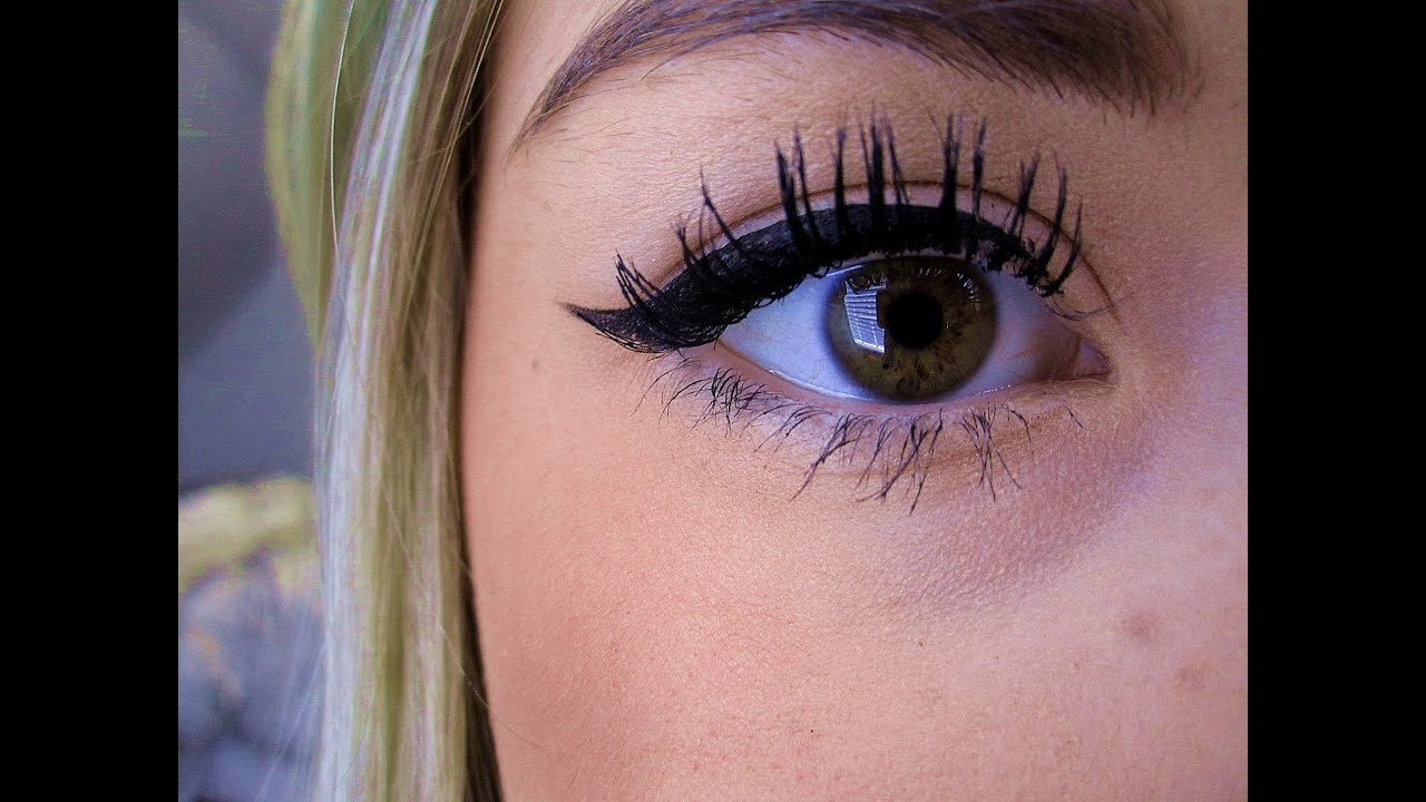 How to perfect winged eyeliner tutorial youtube baditri Image collections