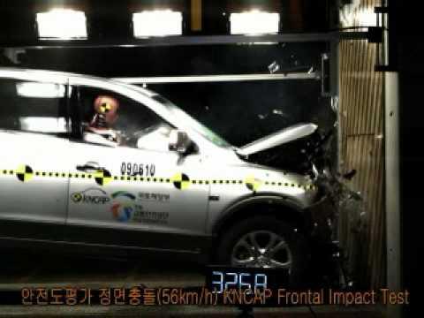 2009 Hyundai Veracruz NCAP Frontal Impact (KNCAP)