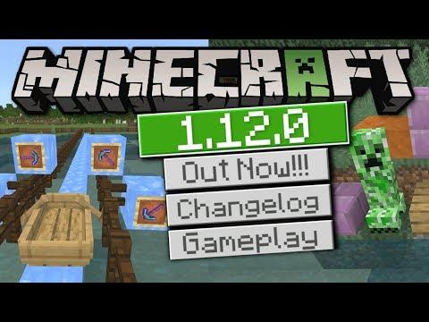 Minecraft Bedrock 1 12 - OUT NOW ! CRAWLING !! [ Change Log ] MCPE / Xbox /  Windows 10