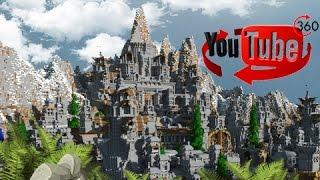 360 Degree Video - Minecraft Kingdoms of Greymane!
