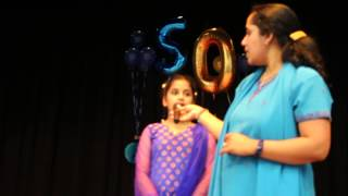 Jaishree 50th Birthday Sahana singing Palinginaal oru maligai
