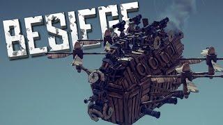 CONTROLLING THE ENEMY - Besiege Alpha Sandbox