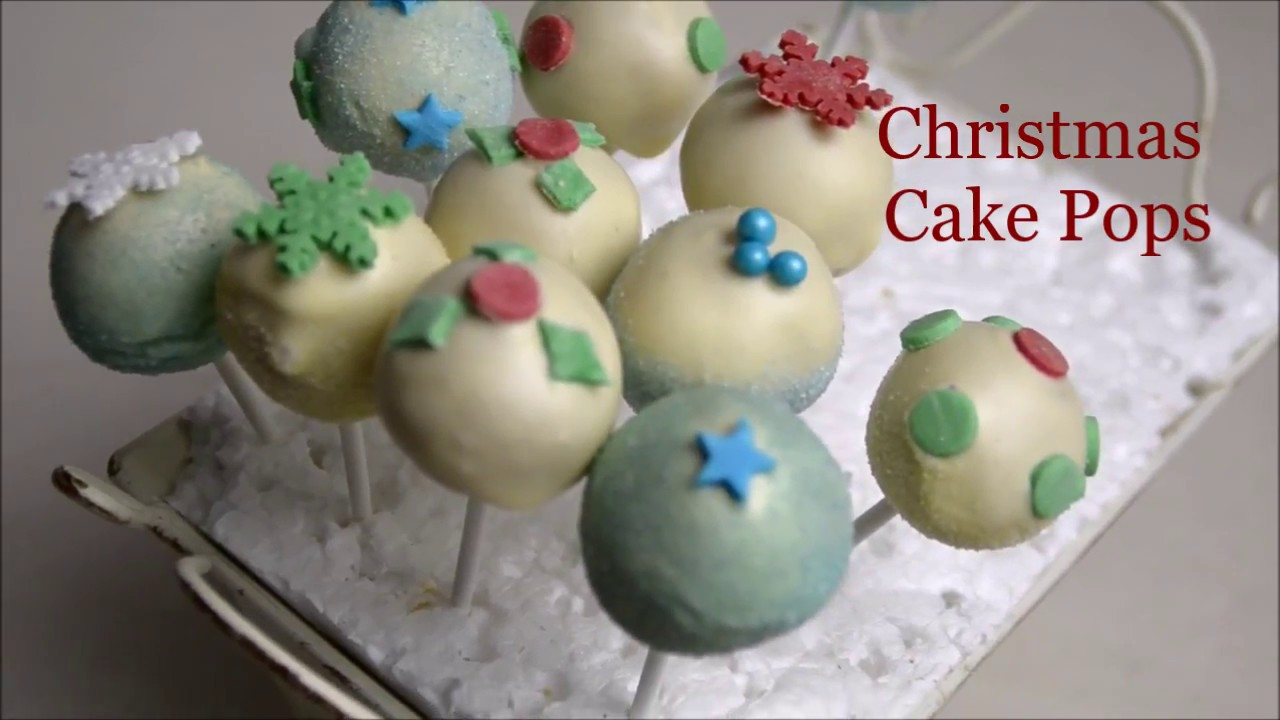 Cake Balls Decorated For Christmas : Cake Pops decorating ideas for Christmas - YouTube