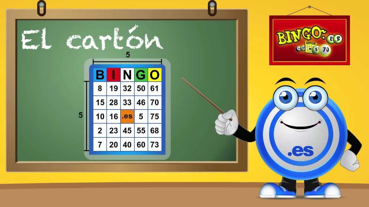 Como Jugar Al Bingo De 75 Bolas Bingo Es Youtube