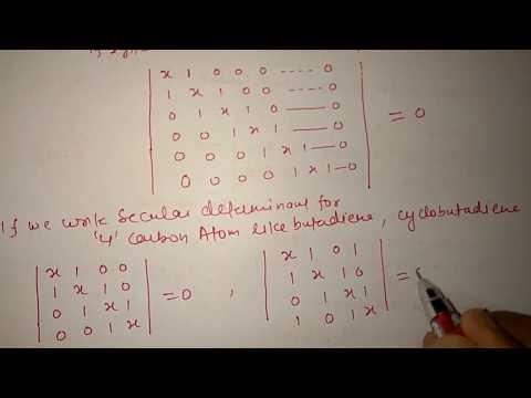 Huckel Molecular Orbital Theory Part I Csir Net