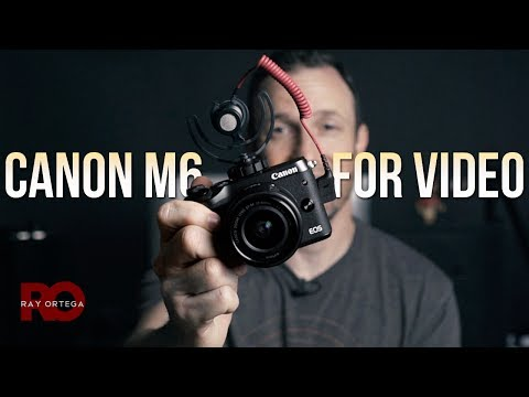 Canon M6 for Video and Vlogging 📷: A first impression