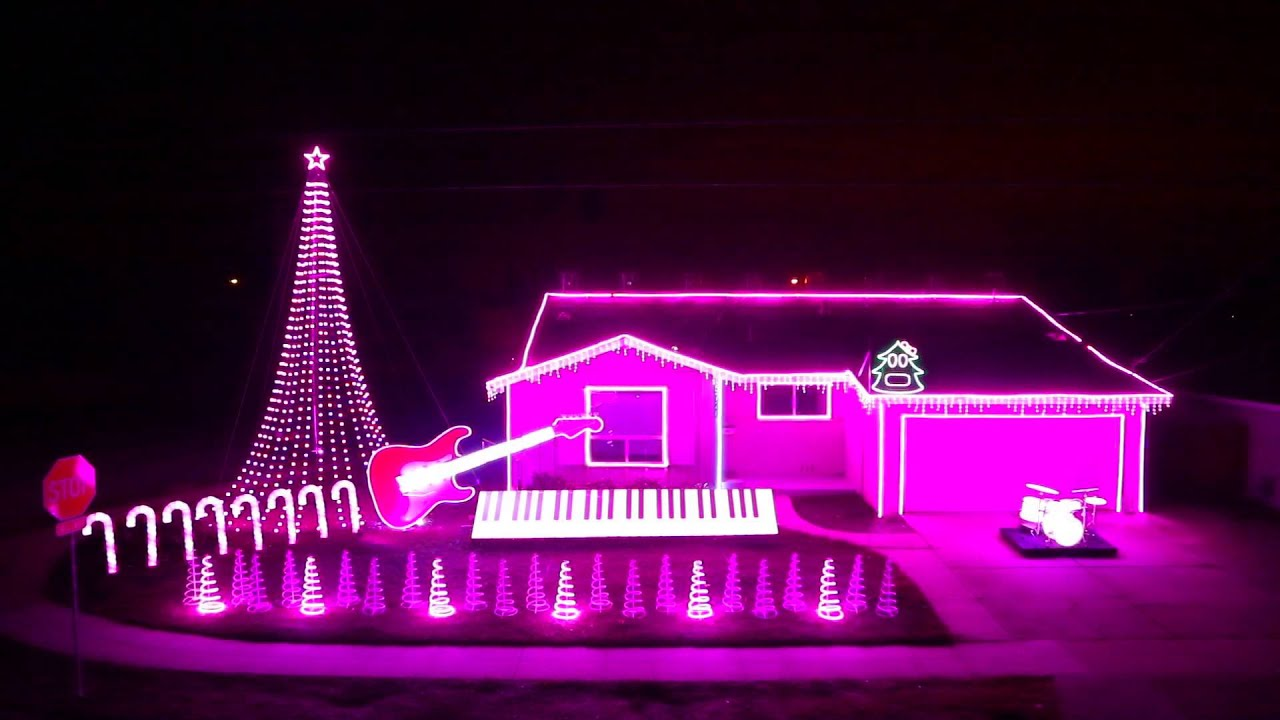 let it go frozen christmas lights show 2014 as seen on great christmas light fight youtube