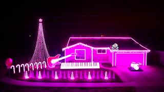 """Let It Go"" (Frozen) Christmas Lights Show 2014 as Seen on Great Christmas Light Fight!"