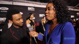 """Algee Smith Talks Singing In Front of Babyface for """"The New Edition Story"""""""