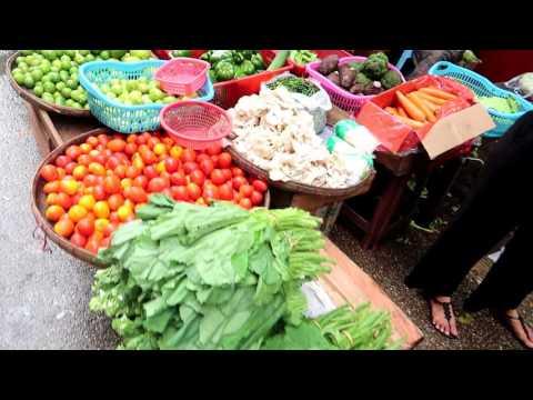 Yangon Street Market