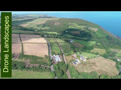 Dhoon Glen - Isle of Man by Drone