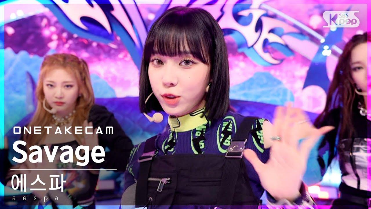 Download [단독샷캠] 에스파 'Savage' 단독샷 별도녹화│aespa ONE TAKE STAGE│@SBS Inkigayo_2021.10.24.