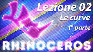 Rhino - Lezione 02 - Le curve - Iª parte