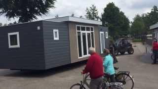 Plaatsing Luxe 5-persoons Chalets 2015 - Recreatiepark De Achterste Hoef