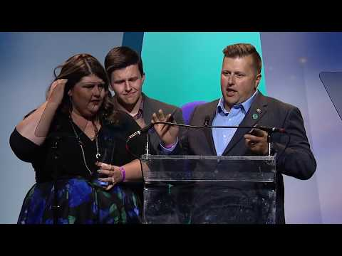 Fathering Autism wins Best in Parenting/Family || Shorty Awards 2018