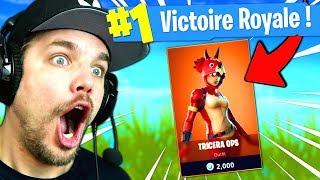 The SKIN of TOP 1 or Almost... on Fortnite: Battle Royale!!