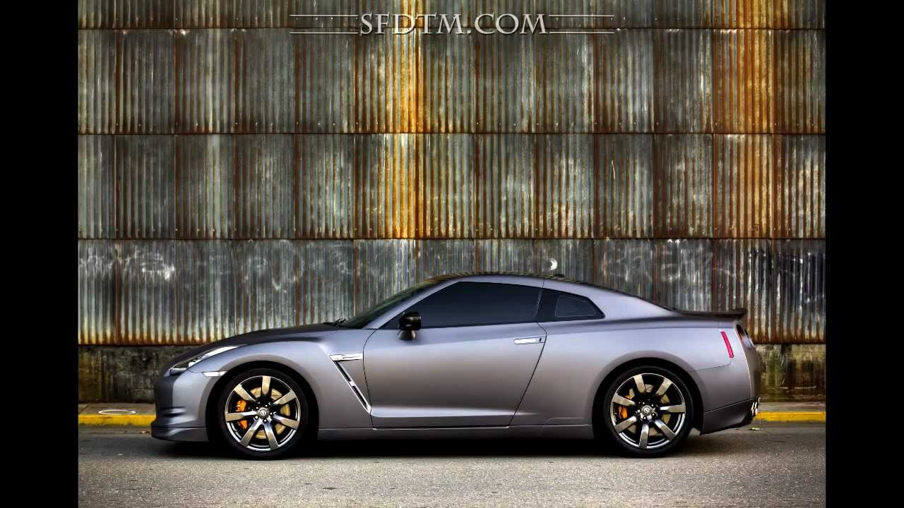 Nissan Gtr 3m Matte Metallic Dark Grey Car Wrap Youtube