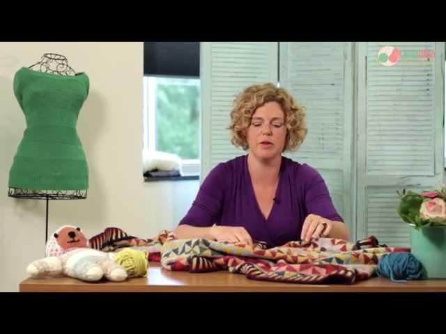 Een driehoek shawl breien, hoe doe je dat? - Breiwoordenboek Breiclub.nl