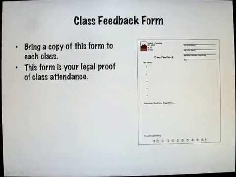 Class Feedback Form Youtube