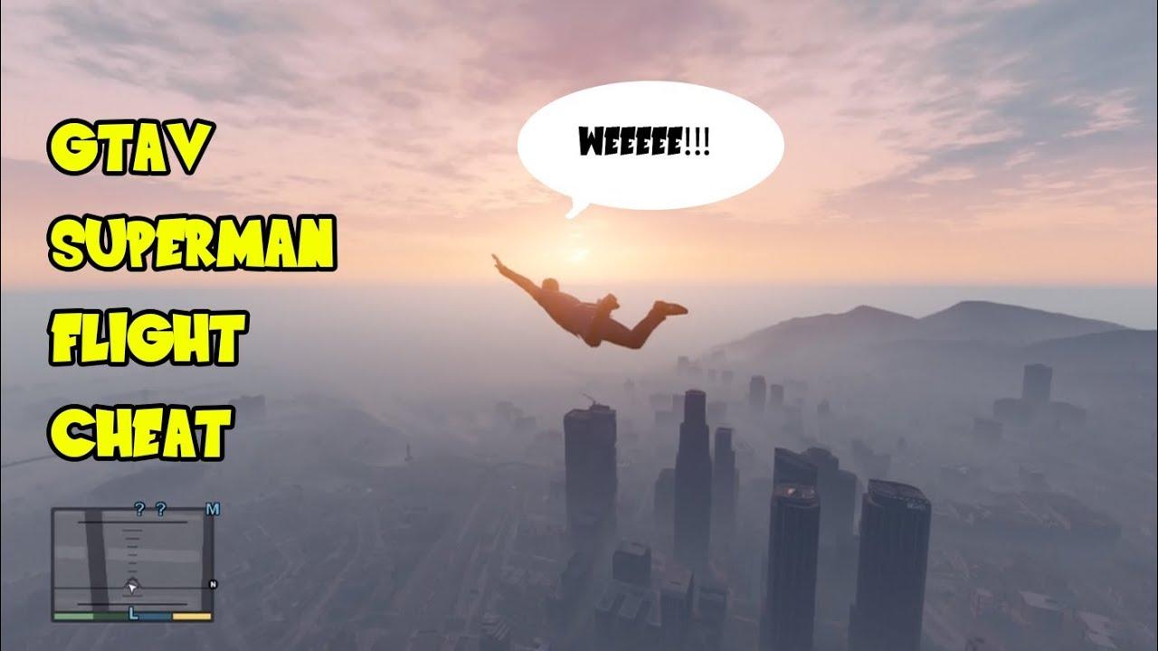 Grand Theft Auto V - Superman Flight Ability (Skyfall GTA ...