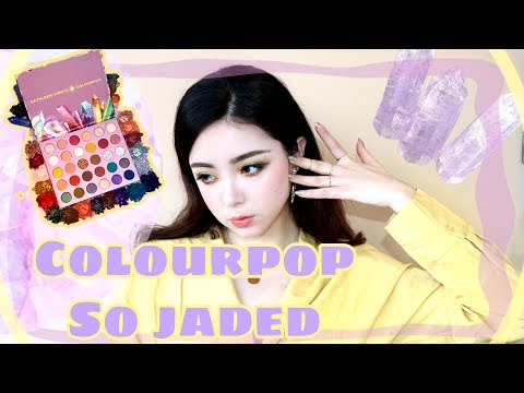 So Jaded palette / Colourpop x Kathleenlights 眼影盘review ➕swatch thumbnail