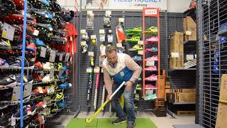 How to choose the right size hockey stick