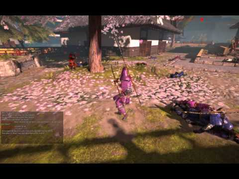 Chivalry Deadliest Warrior Samurai 50 rank gemplay #12  