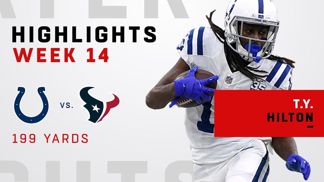 T.Y. Hilton Highlights vs. Texans