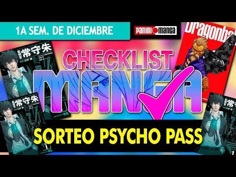 checklist-manga:-primera-semana-de-diciembre-¡estreno-psycho-pass-+sorteo!!
