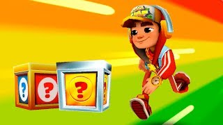SUBWAY SURFERS GAMEPLAY HD - MIAMI ✔ JAKE AND 25 MYSTERY BOXES OPENING