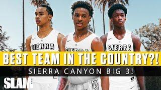 Bronny James, Zaire Wade, & Amari Bailey Teamed Up?! 😈 NEW BIG 3 at Sierra Canyon!