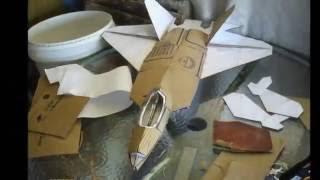 F 22 de papelao