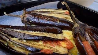 Запеченные баклажаны с сыром в духовке. Быстро, вкусно и легко!