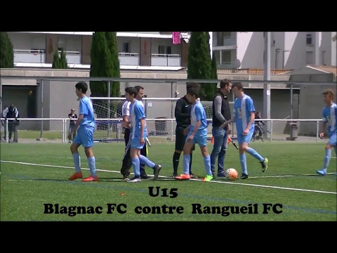 U15 Blagnac FC contre Tls Rangueil FC