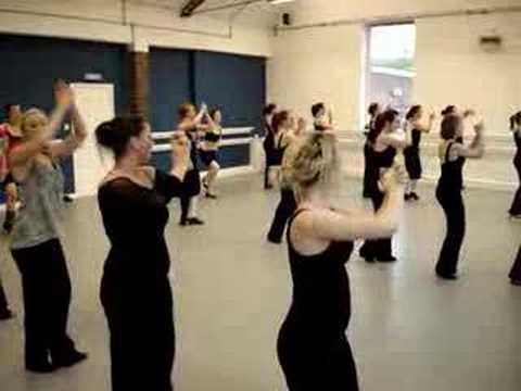 GAMTA - Tap Dance Rehearsal