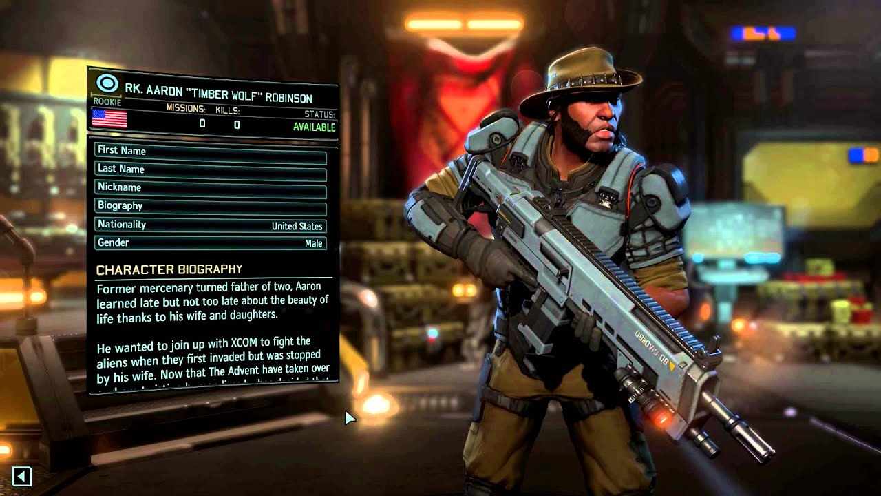 Xcom 2 character pool unique characters now available for Portent xcom not now