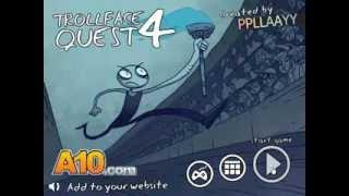 Trollface Quest 4 Winter Olympics Walkthrough