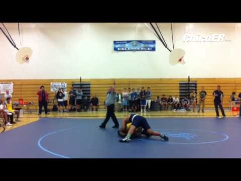 VIDEO: PV's Syrus Tuitele  takes down Enter.'s Victor Penn-Nash in #wrestling dual @tjholmes_RS @ben